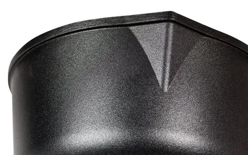 Stieltopf - Milchtopf 18cm Höhe 10cm Aluminium Guss Antihaft INDUKTION